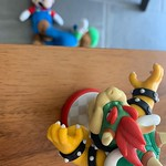 by bartlewife - It appears Bowser has the upper hand today 😂