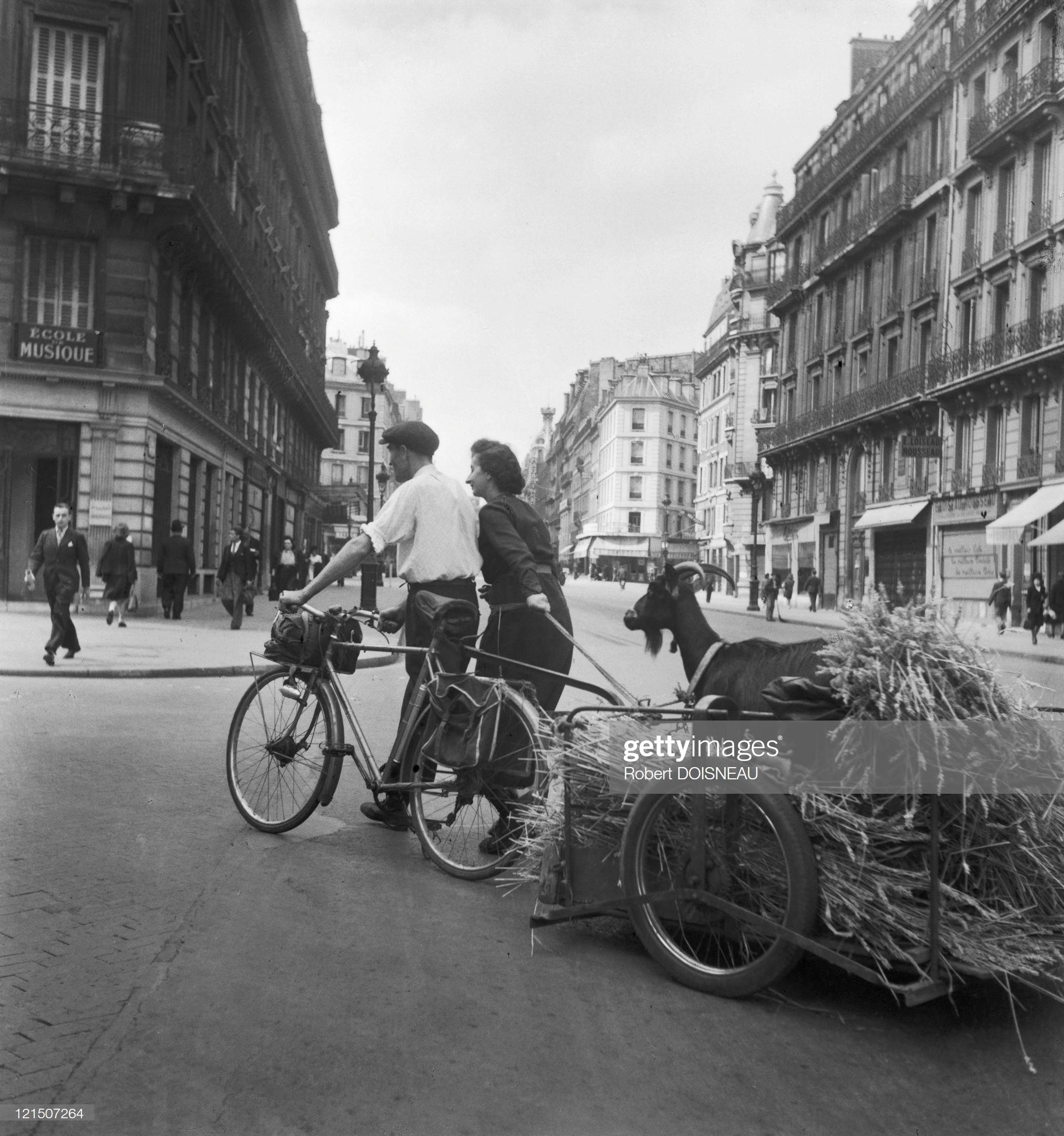 1944. Париж под оккупацией. Рю де Ренн, июль