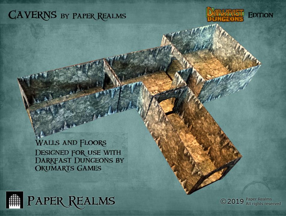 Caverns: Darkfast Dungeons Edition