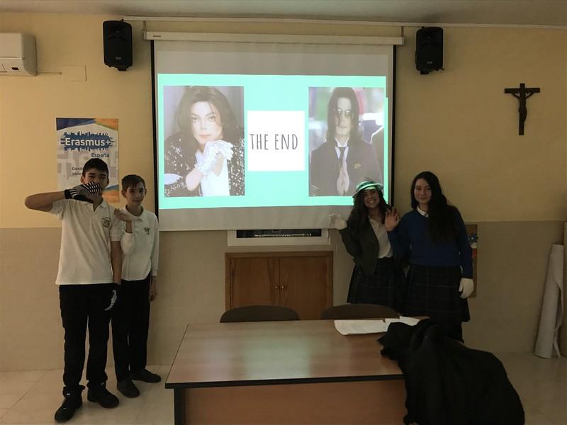 Proyecto Biografías en clase de inglés