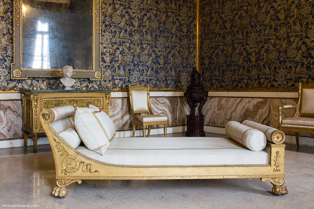 Stanze dell'Imperatrice Elisabetta: camera da letto dell'Imperatrice