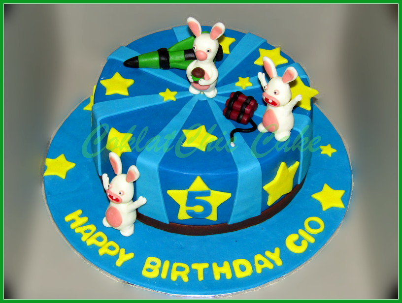 Cake Rabbids Invassion 22 cm