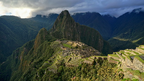 The Heights of Machu Picchu