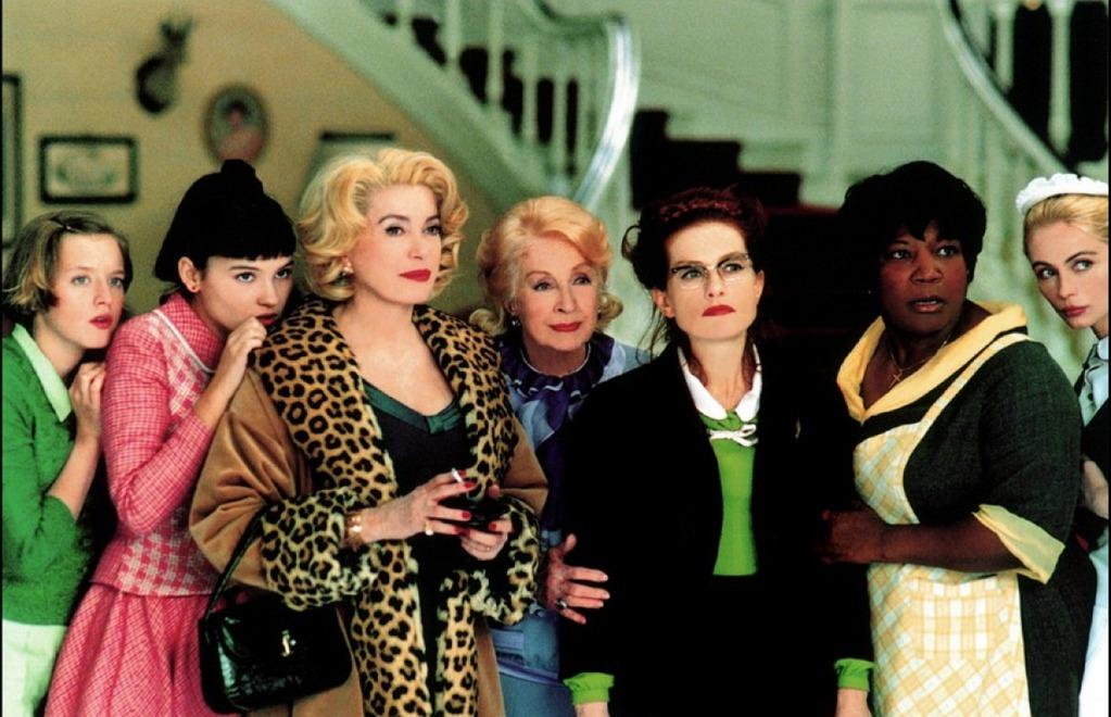 Кадр из фильма 8 женщин (2003)