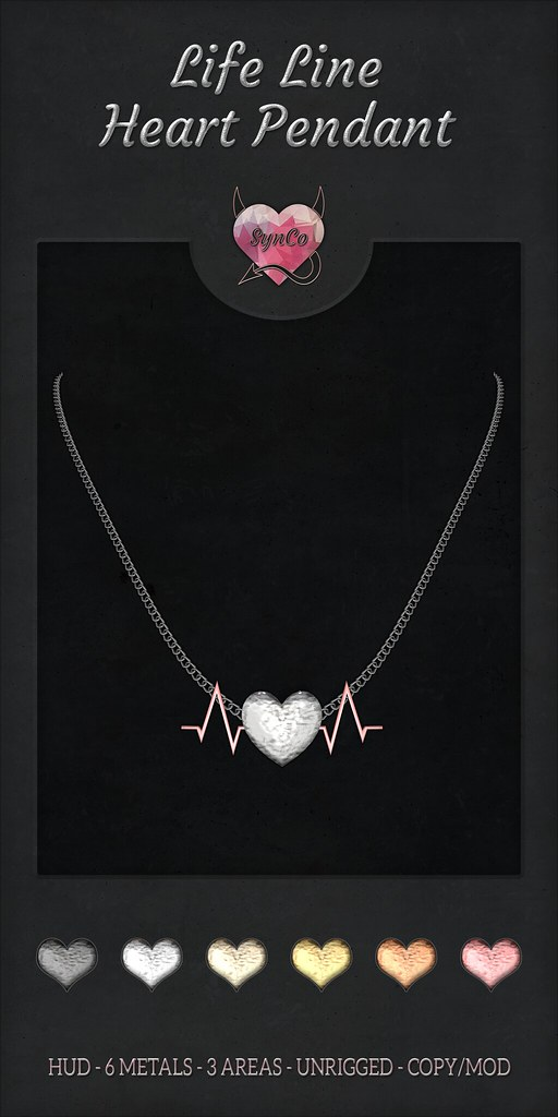 SynCo – Life Line Necklace
