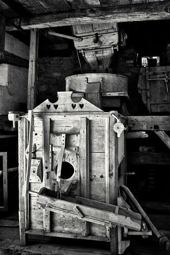 Beutelkasten in der Mahlmühle