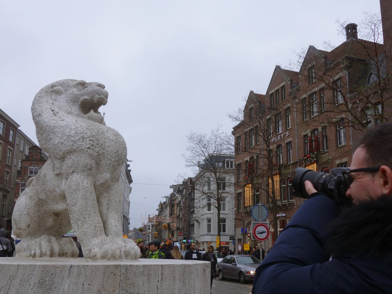 Dam Square lion