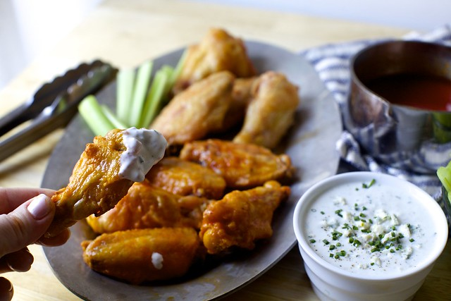 oven buffalo wings