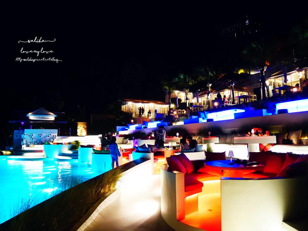 台北陽明山一日遊必吃必玩行程景點推薦THETOP屋頂上好吃景觀餐廳看夜景池畔 (10)