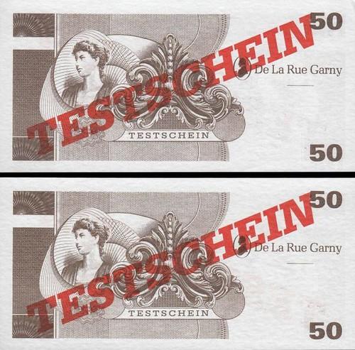 50 De La Rue Garny testovacia