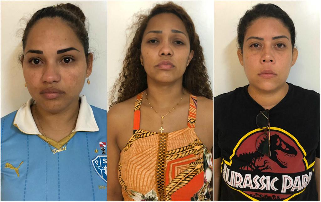 Polícia prende 3 mulheres acusadas de fraudarem a prova do concurso do Detran, trio da fraude: prova do Detran