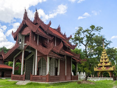 Royal Palace - Mandalay, Myanmar