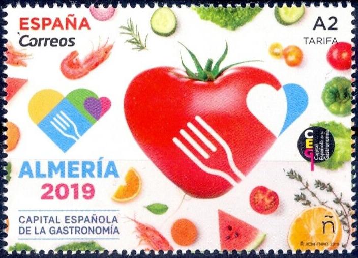 Spain - Spanish Capitol of Gastronomy: Almería (January 23, 2019)
