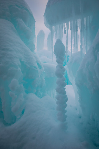 Ice Formations in the Castle