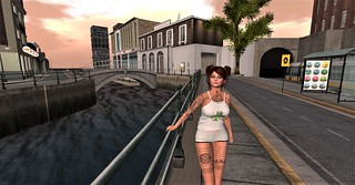 Wandering the Dublin Sim;  LW Poses - Life moves fast - female pose | by bremcdonnell