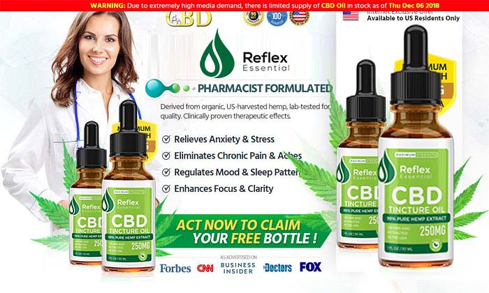 Reflex CBD - An Help Reduce Inflammation Naturally