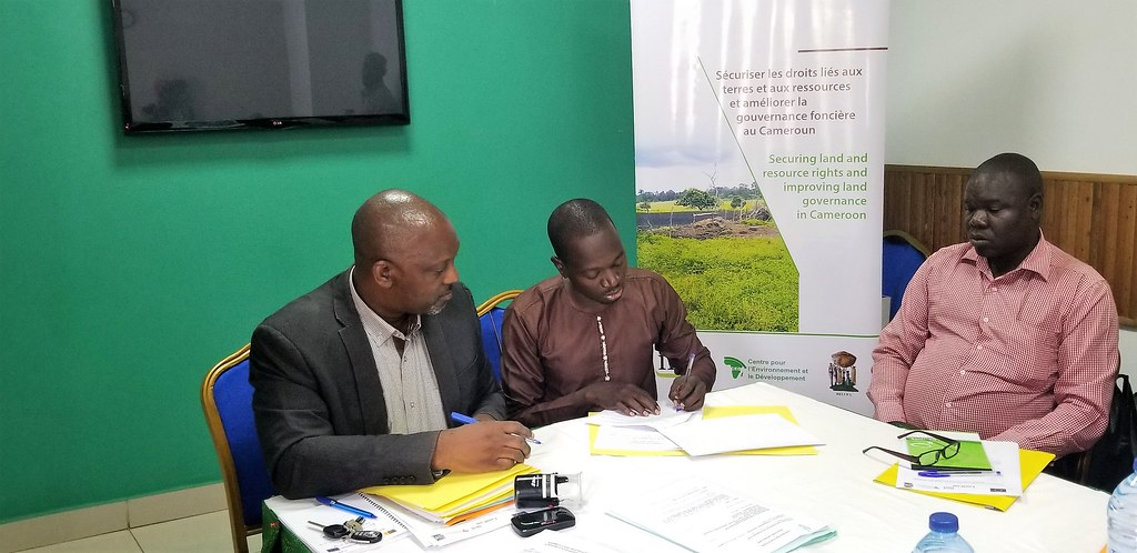 2019.03 Des subventions pour contribuer à l'amélioration de la gouvernance foncière au Cameroun