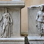 Plinto con personificazione di Provincie (Dacia e Libya) dal Tempio di Adriano MC 763 - MC 755 - https://www.flickr.com/people/82911286@N03/