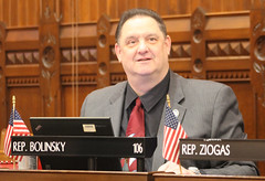 Rep. Bolinsky in the House of Representatives.