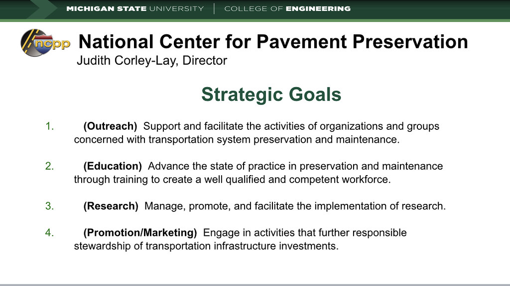 Green Theme Presentation on Sustainable Pavement