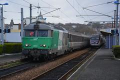 BB67478 + TER à Boulogne-Ville - Photo of Hesdigneul-lès-Boulogne