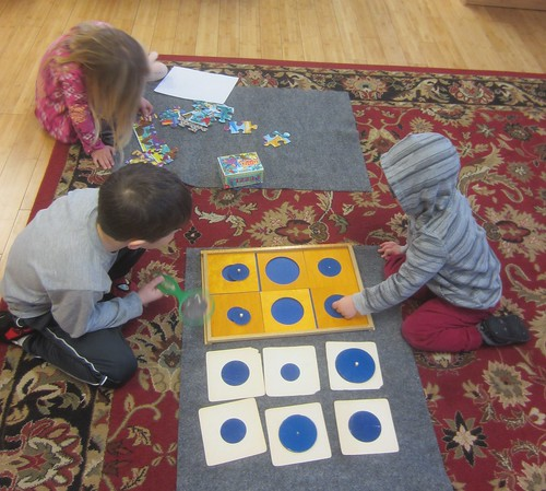 puzzles and circle match