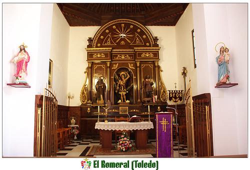 Altar de la Ermita de san Sebastián mártir
