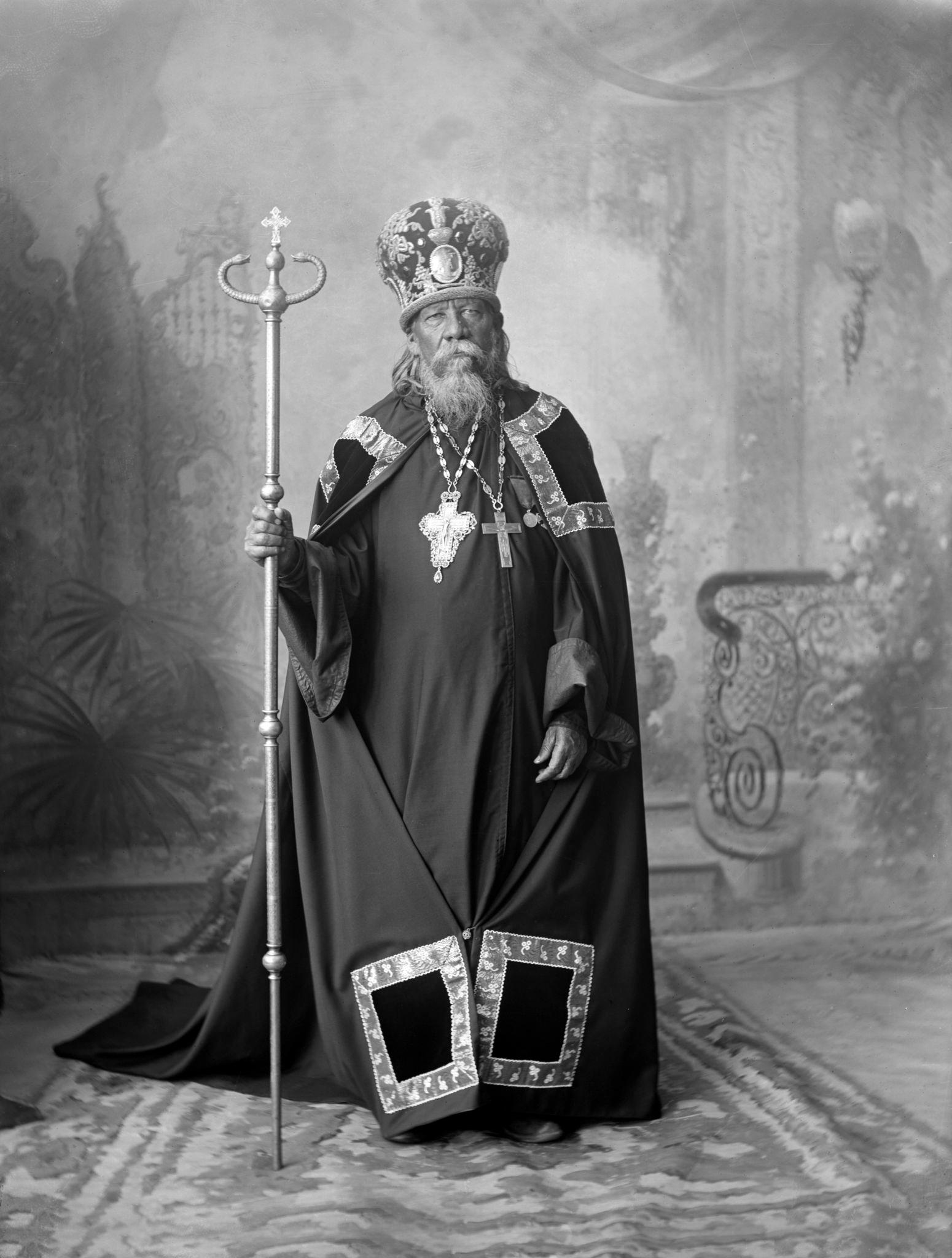 Портрет Филарета - настоятеля Благовещенского монастыря