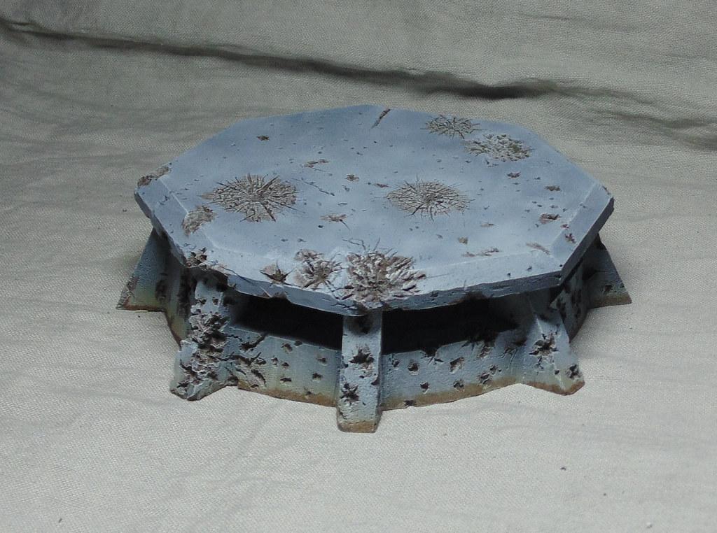 Bunker Astra militarum Hiver 2.2 par Nilval