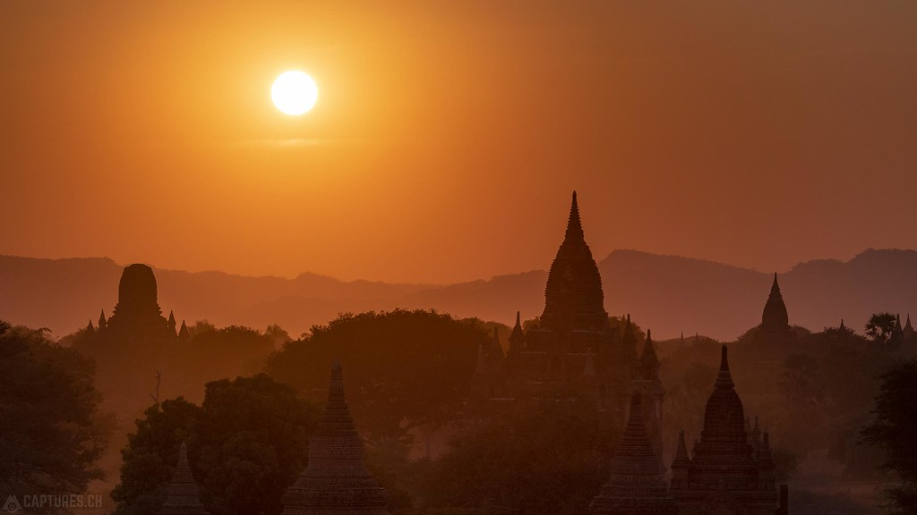 Silhouettes - Bagan