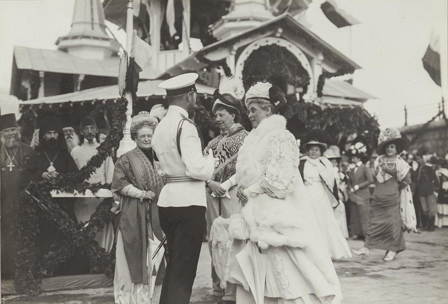10. Император Николай II и Зинаида Николаевна Юсупова