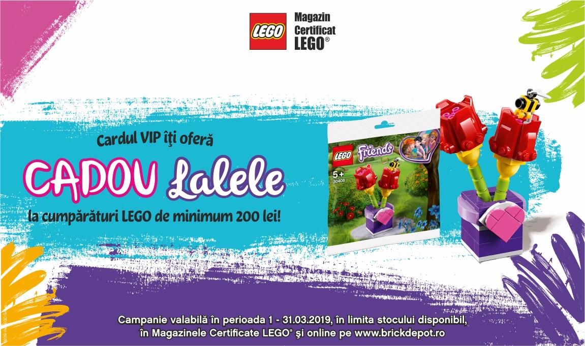 Cadou Lalele LEGO® pentru clientii VIP