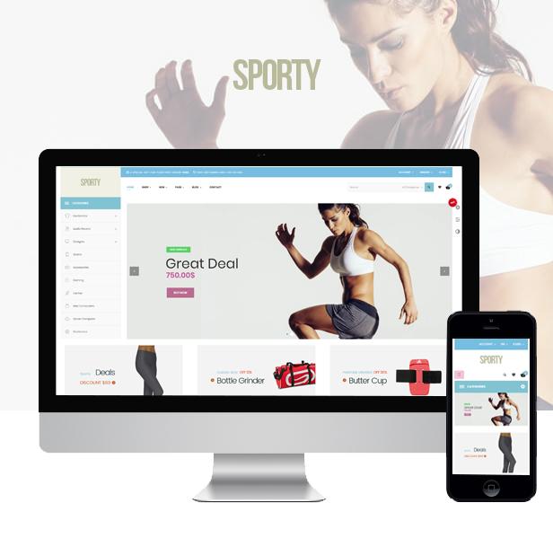 Ap Sporty Amazing Fashion Trend Prestashop Sport Theme - Fashion clothes & Sport store