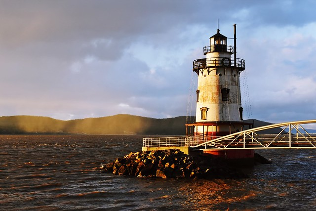 Sleepy Hollow Lighthouse (also known as Tarrytown Light and Kingsland Point Light), Westchester County, New York