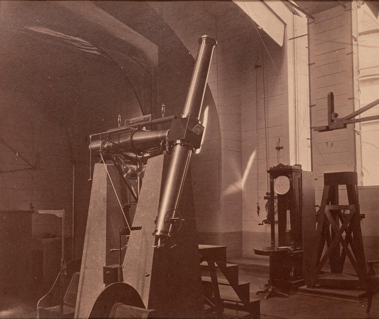 Пассажный инструмент Репсольда в Пулковской обсерватории