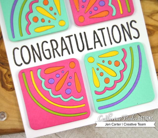 Jen Carter Adoring Backsplash Congratulations Closeup