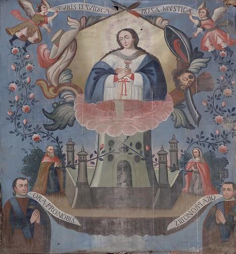 Torre de David y Rosa Mística