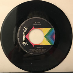 CHI LITES:OH GIRL(RECORD SIDE-A)