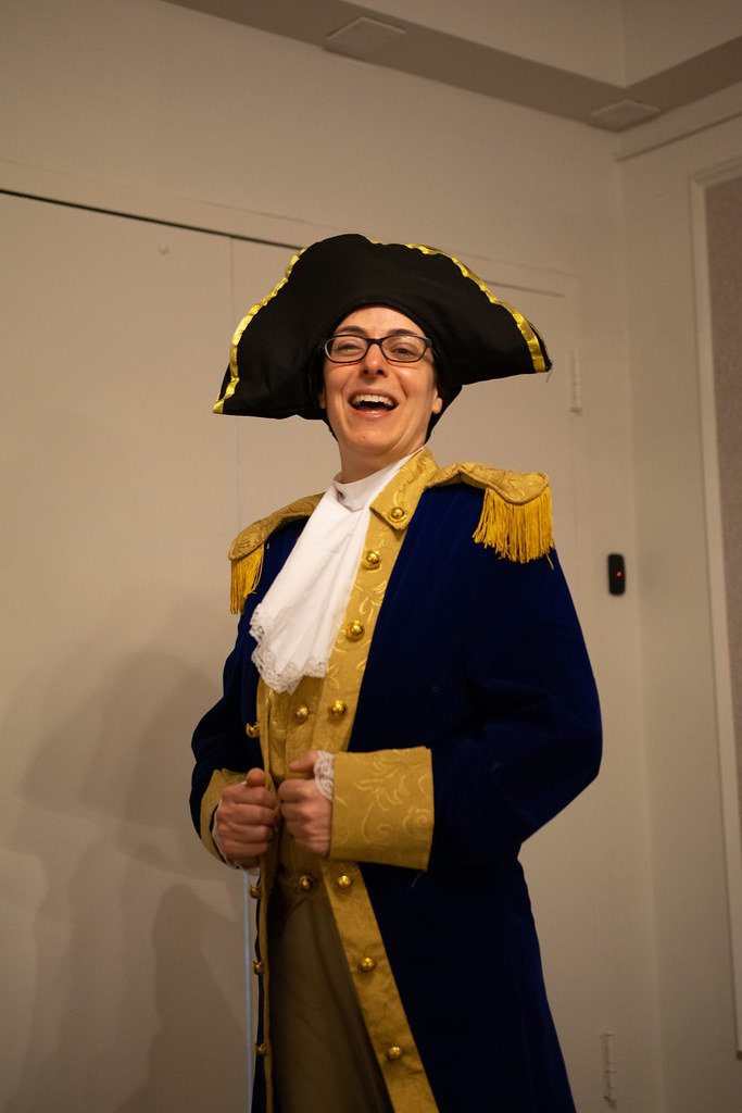 Arisia 2019 Cosplayer - George Washington