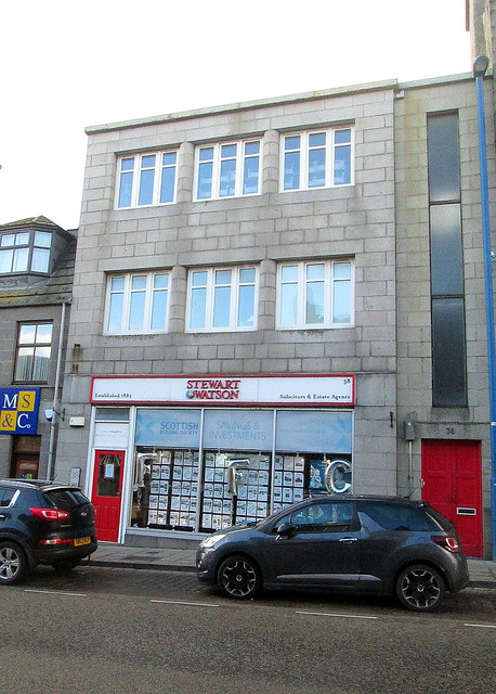 Art Deco Shop, Fraserburgh
