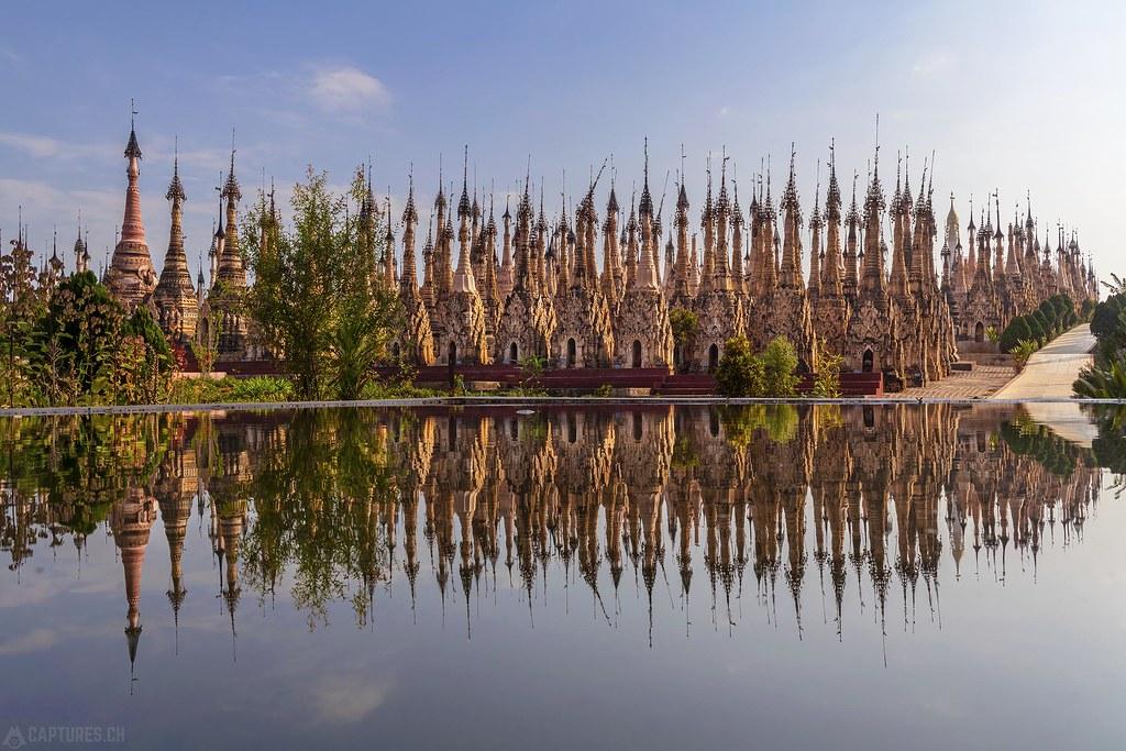 Reflection of the Pagodas - Mwe Taw Kakku