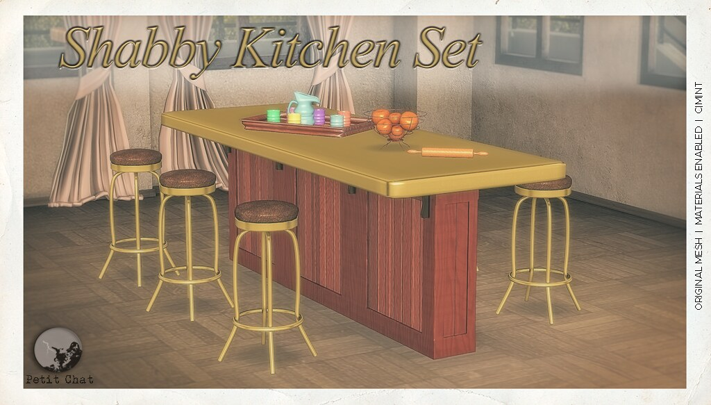 Shabby Kitchen Set @ The Chapter Four - TeleportHub.com Live!