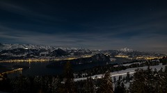 Rigi by night