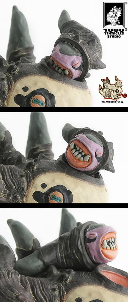 這隻怪獸藏有什麼秘密?! 1000Tentacles Studio《怪獸與小孩》軟膠系列 第二彈【多角獸】Vinyl Toy Series02 Monster Tree Trunk