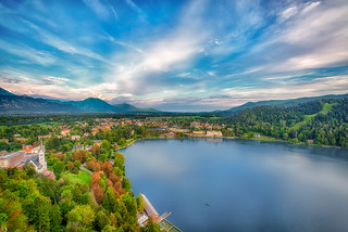 The town of Bled