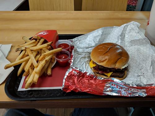 Burger at Wendy's