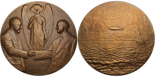Coolidge and Eckener Medal 100543