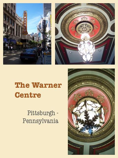 Pittsburgh Pennsylvania  - The Warner Centre - Aka - Warner Theatre