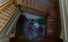 Palace Hotel's Late 1800 Staircase