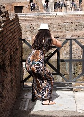 Rome - The Colosseum - May 2015 - Candid - Work It Girl